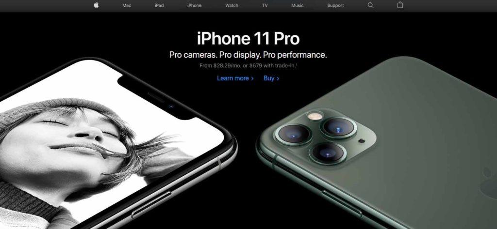 apple seo minimalista