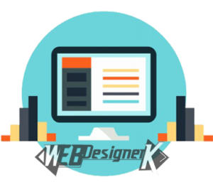 Landing page web designer
