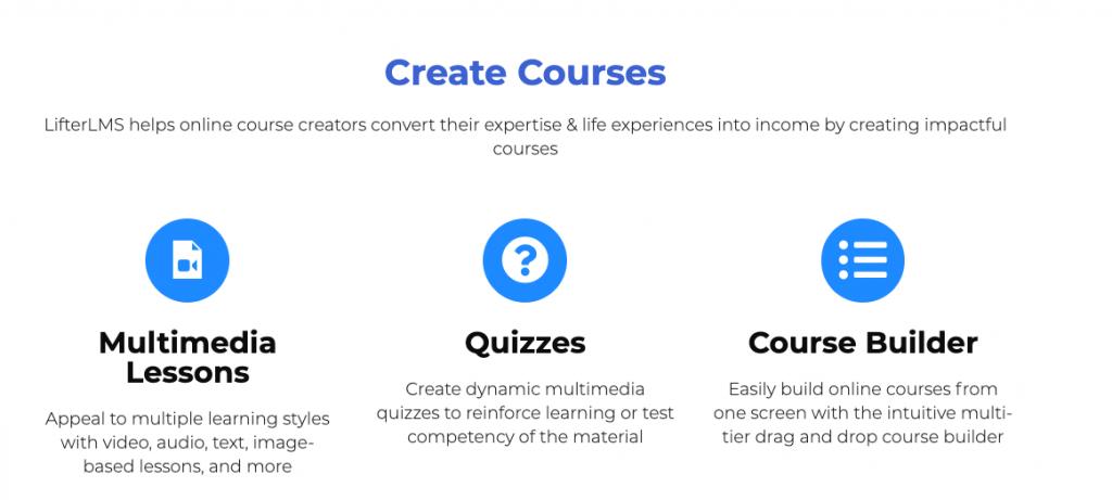 crear cursos con LifterLMS